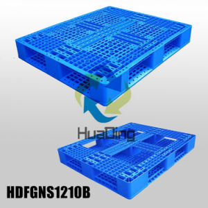 1250*1100 Environmentally Friendly Double Faced Plastic Pallet From China pictures & photos