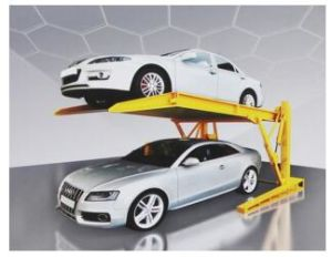 Hydraulic Tilting Car Parking Lift for Low Space pictures & photos