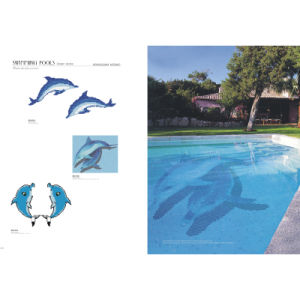 Glass Mosaic Sea World Art Design for Swimming Pool Tile pictures & photos
