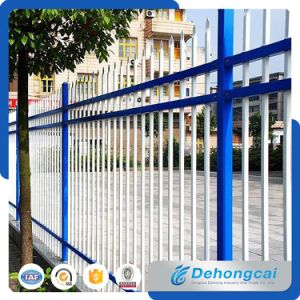 1500 mm * 2400 mm 3 Rail Used Wrought Iron Fence pictures & photos