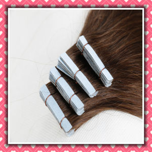 for Sale Remy Virgin Hair Skin Weft Silky 16inches pictures & photos