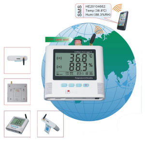GSM Alarm Temperature and Humidity Data Logger pictures & photos