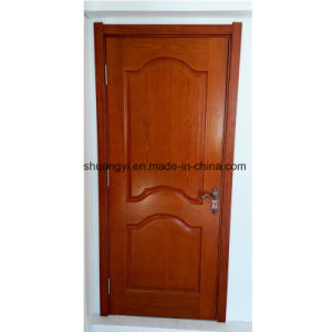 Solid Wood Deco Panel Door pictures & photos