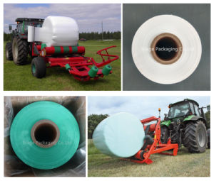 750mm Good Quality Anti-UV Green Silage Wrap Film for France pictures & photos