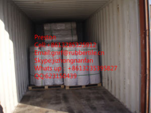 Cloth Insertion Rubber Sheet, Ribed Rubber Mat pictures & photos