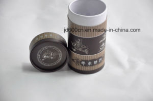 Round Paperboard Tea Box with Printed Logo pictures & photos