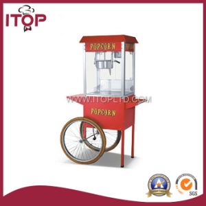 Commercial Professional Popcorn Machine with Wheels pictures & photos