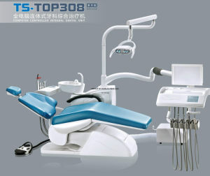 Detes Top 308 Deluxe Complete Low Mounted Dental Chair Unit pictures & photos