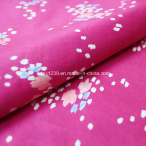 Printed Voile Fabric Made of 100%Cotton for Apparels (60X60/90X88) pictures & photos