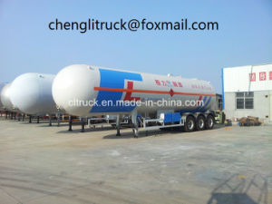 3 Axle 59.6 Cbm LPG Tanker Semi Trailer pictures & photos