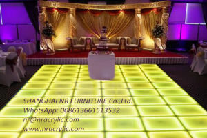 LED Dance Floor for Wedding Events Promotional RGB Colorful Starlit