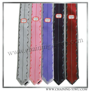 High Quality 100% Microfiber Woven Panel Tie (AS22214)