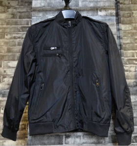 Men Black Classic Outdoor China Wholesale Low Price Coat pictures & photos