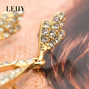 Exquisite Crystal Glass Rhinestone Long Wedding Dangle Drop Earrings pictures & photos