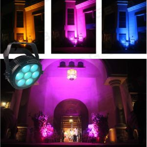 IP65 Waterproof Outdoor Rgbwy 5 in 1 7PCS 25W LED Stage PAR 64 Light pictures & photos