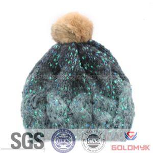 2015 Girls Crochet Beanie Hats (GKM04-Q0026) pictures & photos