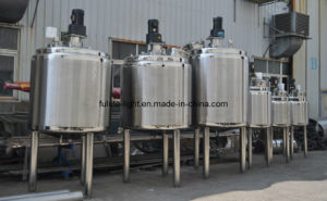 Stainless Steel Steam Heating Blending Tank pictures & photos