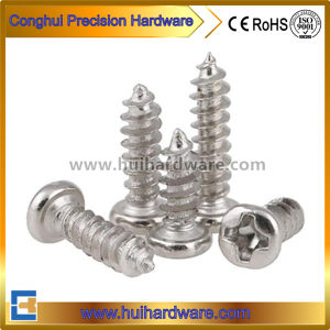High Quality Nickel Plated Pan Head Self Tapping Small Screws M1 M1.2 pictures & photos