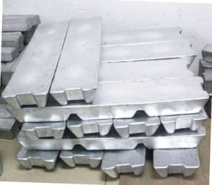 Zamak 5 Zinc Ingot pictures & photos