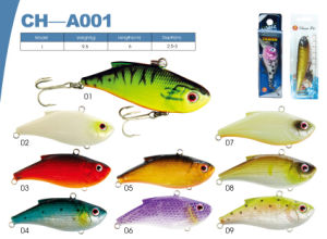 High Quality Popular Vib Hard Plastic Fishing Lures pictures & photos