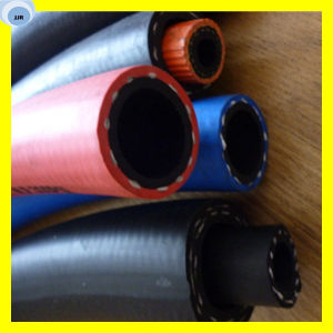 Garden Air Hose PVC Covered Colorful Rubber Hose pictures & photos