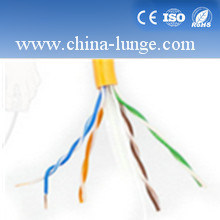 Fluke Passed 305m LAN Cable PVC Insulation Cable Cat5e UTP Network Cable pictures & photos