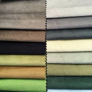 1.5USD/M Knitting Velvet Plain Velvet Sofa Fabric (BL090) pictures & photos