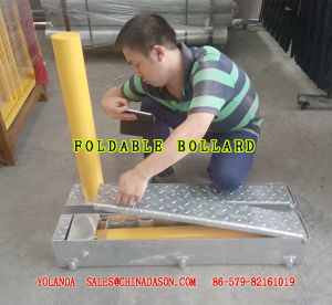 Folding/Rising Bollard pictures & photos