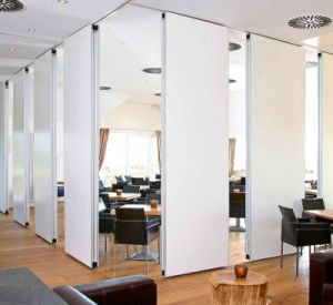 China Manufacturer Movable Door Soundproof Partition Wall Office Devision