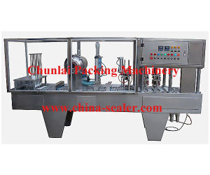 Enclosed Water Cup Filling and Sealing Machine (BG60A-FB) pictures & photos
