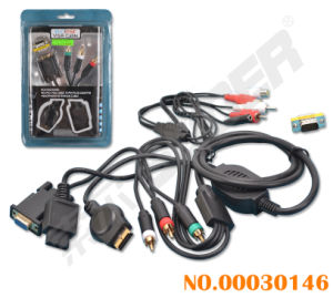 Multifunction Game Machine 2 in 1 Conversion Cable (00030146) pictures & photos