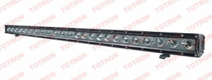 Super Bright 9600 Lumen CREE LED Car Light Bar / Single Row 120W / IP 67 / Flexible Brackets Suit for ATV SUV Mining Tractor