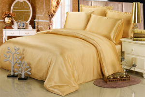 Elegant Mulberry Silk Solid Colour Beddings