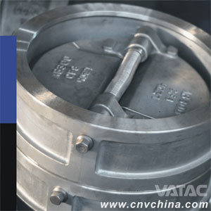 Vatac API Wafer Dual Plate Cast Steel Check Valve pictures & photos