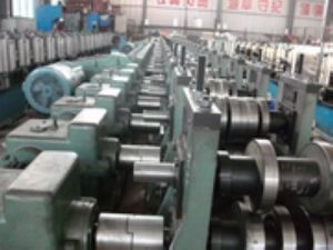 Rittal Electric Cabinet Frame Roll Forming Machine Manufacturer for Indonesia pictures & photos