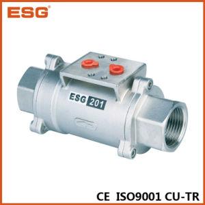 Esg Ss Material Pneumatic Control Axial Valve pictures & photos