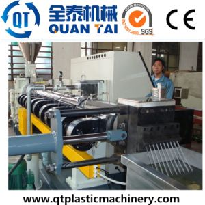 PE PP Filler Masterbatch Extruder Machine/ Compounding Machine/Double Screw Extruder pictures & photos