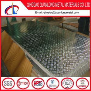 Price of Grade 304 Stainless Steel Checkered Plate Size pictures & photos