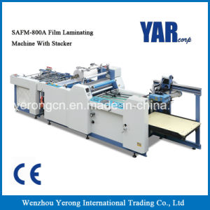 Best Sell Safm-800A Fully Automatic Paper Laminating Machine with Ce pictures & photos