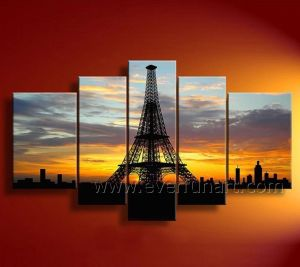 Handmade Modern Wall Art Canvas Landscape Oil Painting (LA5-057) pictures & photos