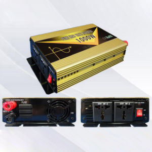 Power Inverter 1000W DC12V/24V AC220V/110 Pure Sine Wave pictures & photos