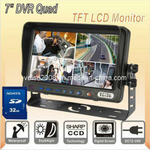 DVR Quad TFT LCD Monitor (Model: SP-737DVR) pictures & photos