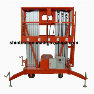 8m High Rise Work Platform with Double Mast (AWP8-2000) pictures & photos