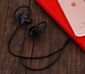 Stereo Wireless Hanging Bluetooth V4.1 Headset Earphone pictures & photos
