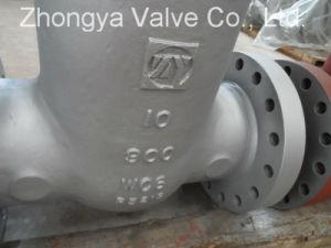 API Wc6 Material Class900 Gate Valve (Z41H-900LB-10) pictures & photos