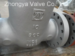 API600 Wc6 Material Class900 Gate Valve (Z41H-900LB-10) pictures & photos