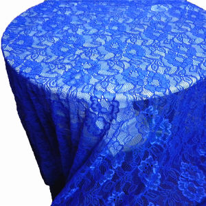 Fashin Blue Nylon Dress Lace Fabric (NF1005) pictures & photos