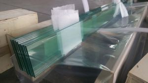 """6mm 4"""" Louvre Glass with Polished Edge Work pictures & photos"""