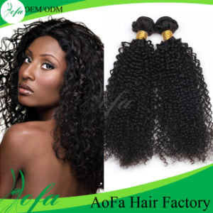 Full Cuticle and Tangle Free Abundant Stock Human Hair pictures & photos