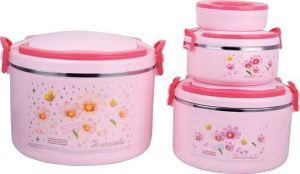 2845 Hot Selling Plastic Thermal Insulation Lunch Box pictures & photos